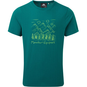 Mountain Equipment Vista Tee Men spruce